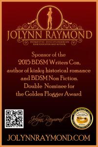 Jolynn Raymond -Sponsor BDSM Writers Con